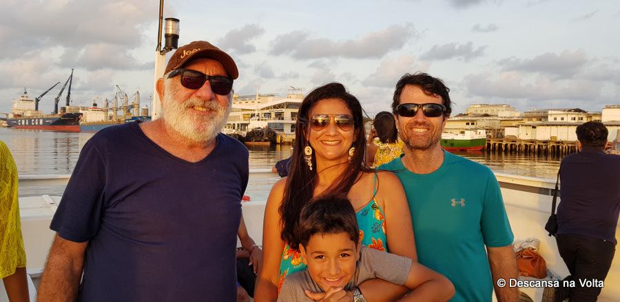 Passeio de barco em Natal Potengi Tur