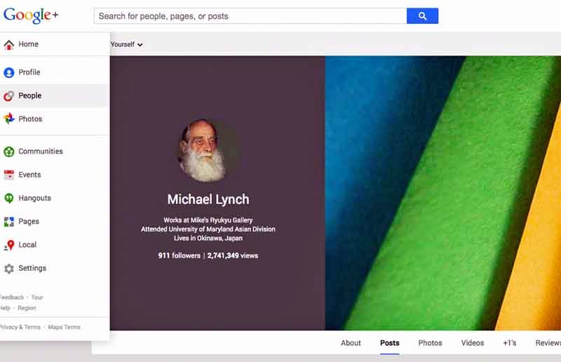 screenshot,Google Profile,photos