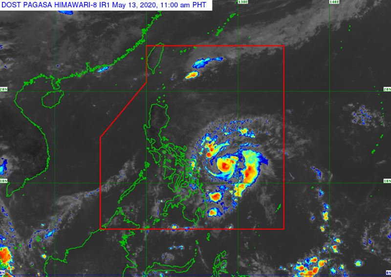 'Bagyong Ambo' PAGASA weather update May 13, 2020