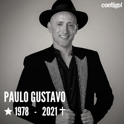 Luto Nacional: Morre o ator Paulo Gustavo, vítima da Covid-19