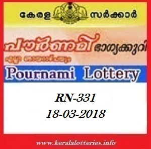 POURNAMI (RN-331) LOTTERY RESULT