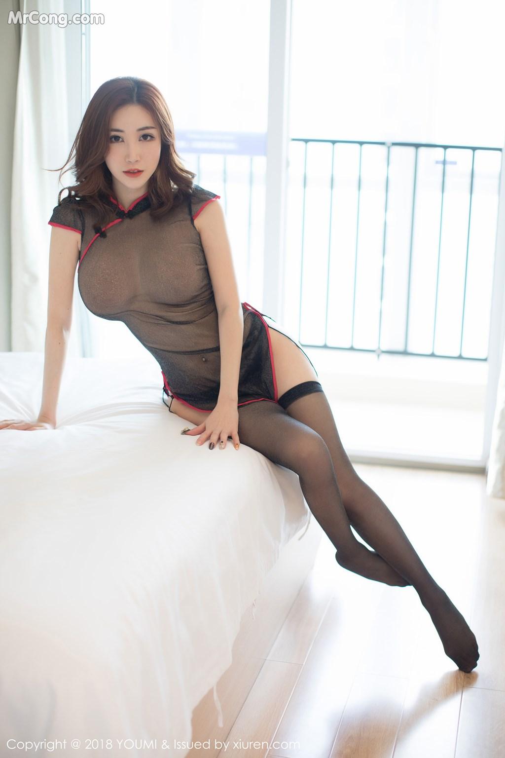 Image YouMi-Vol.236-Sun-Meng-Yao-V-MrCong.com-001 in post YouMi Vol.236: Người mẫu Sun Meng Yao (孙梦瑶V) (47 ảnh)