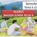 SILABUS BAHASA SUNDA Kelas 6 Semester 2