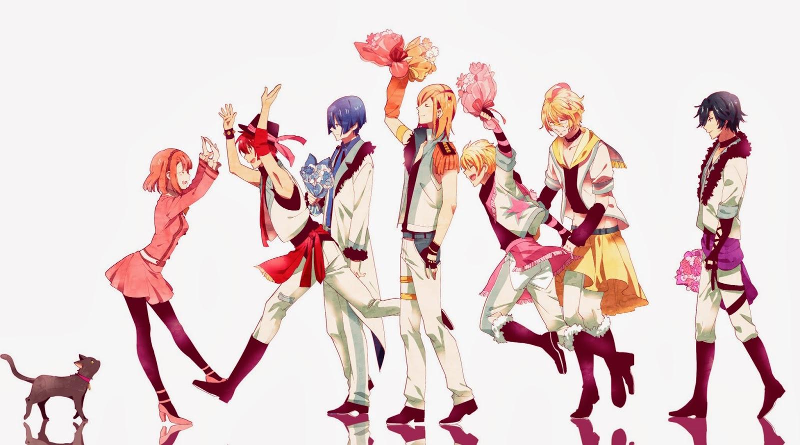 1 2 Prince Anime Characters : Canto das otomes uta no prince sama maji love