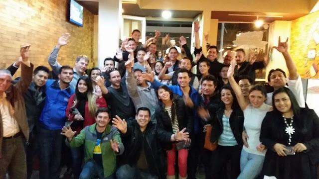 مجتمع بيتكوين الإكوادوري (الصورة\bitcoinecuador.org)