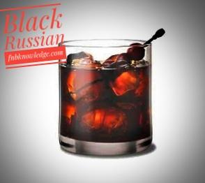 Black Russian-cocktail (My bar)