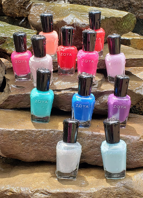 zoya splash collection summer 2020