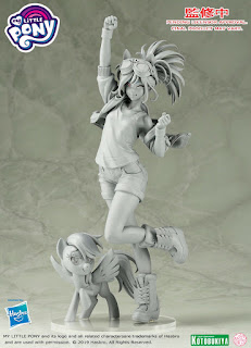 Kotobukiya Shows Finalized Rarity + Rainbow Dash Prototype Designs