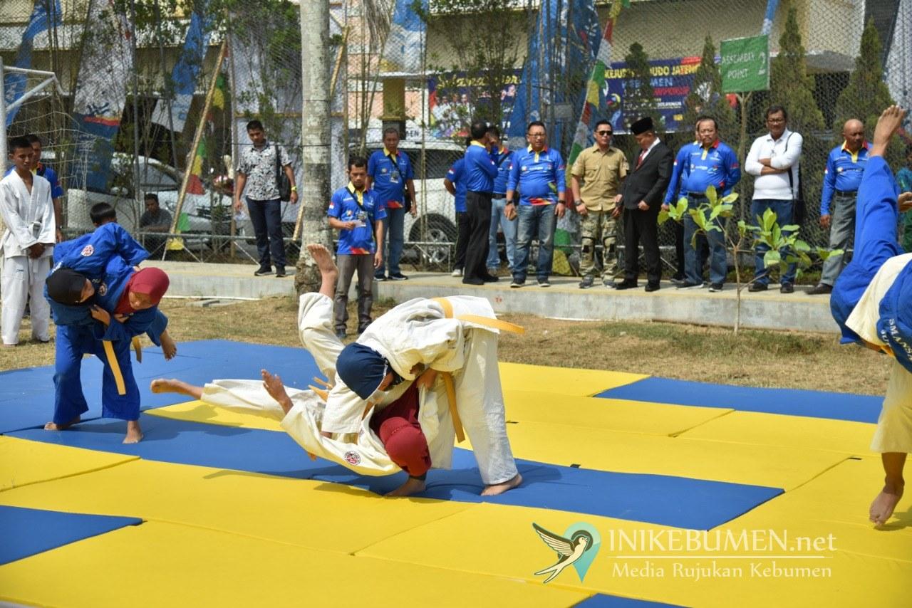 Jadi Tuan Rumah Kejurprov Judo, Kebumen Pasang Target Juara Umum