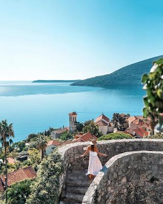 View on Herceg Novi and Boka Bay