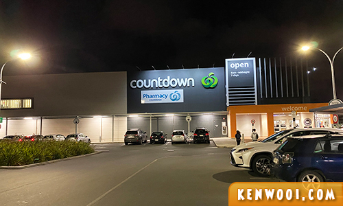 countdown auckland