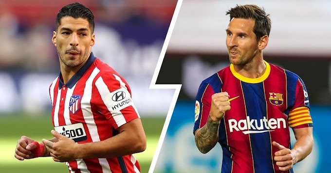 Two Barcelona legends Suarez and Messi top list of La Liga's best shooters for 2021/2022 season