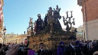 Nuestro Padre Jesús de los Afligidos por la Plaza de la Libertad en la Semana Santa Cádiz 2019