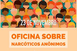 Reinserir promoverá oficina sobre Narcóticos Anônimos em Cubati nesta quinta (23)