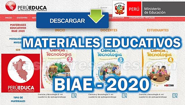 Descargar Materiales Educativos BIAE-2020 de Perueduca