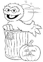 sesame street halloween coloring pages halloween colorings