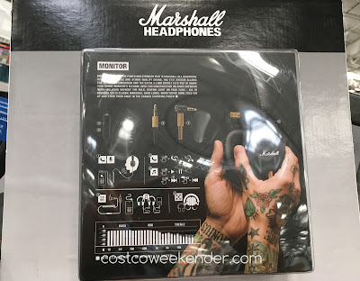Costco 1112020 - Marshall Monitor Headphones - great if you're a DJ or just love listening to music