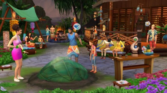 The Sims 4 Island Living Free Download (v1.52.100.1020 & ALL DLC)