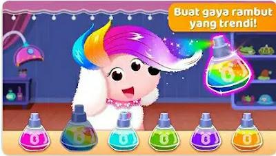Baby Panda's Hair Salon