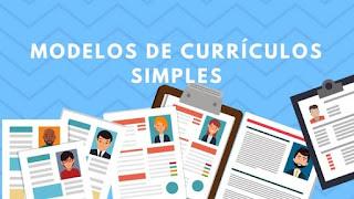 Modelo de Currículo Simples