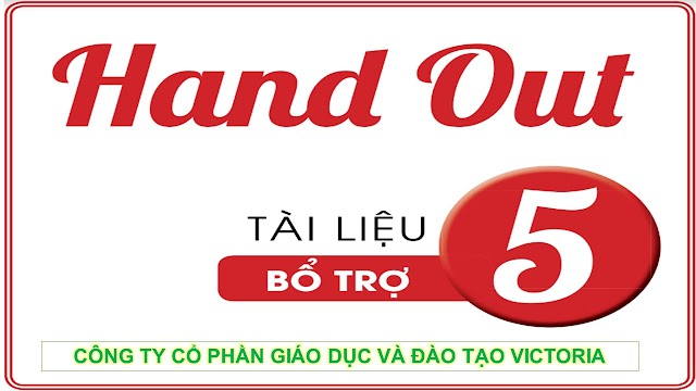 Handout Bổ Trợ Tiếng Anh 5 - Victoria