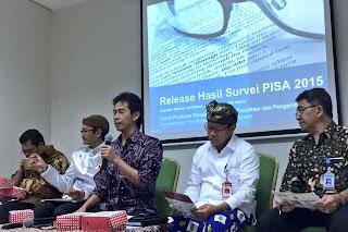 Peringkat dan Capaian PISA Indonesia Mengalami Peningkatan