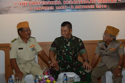 Pangdam : Tingkatkan Silaturahmi Bersama Veteran Sebagai Inspirasi dan Motivasi