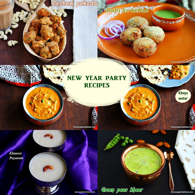 New year party recipes