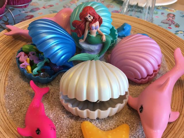 Meerjungfrauen Geburtstagsfeier