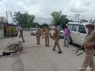 प्रदेश में लागू लॉकडाउन के दृष्टिगत अपर पुलिस अधीक्षक जालौन द्वारा जालौन में भ्रमण कर स्थिति का जायजा लिया                                                                                                                                                       संवाददाता, Journalist Anil Prabhakar.                                                                                               www.upviral24.in