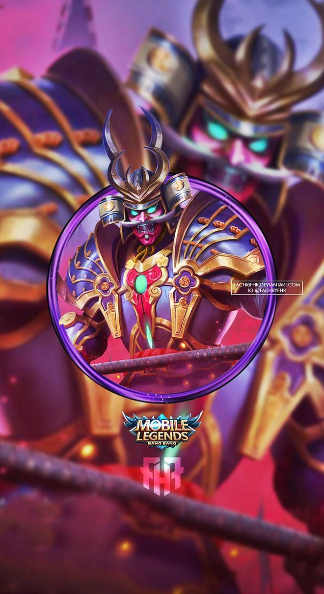 Wallpaper Alpha Onimusha Commander Skin Mobile Legends for Android and iOS