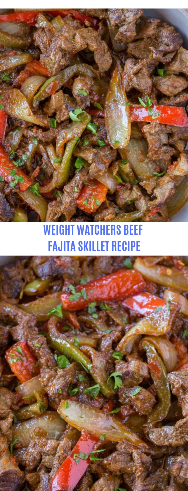 WEIGHT WATCHERS BEEF FAJITA SKILLET RECIPE
