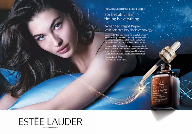 Estee Lauder taps Grace Elizabeth for Advanced Night Repair Eye campaign