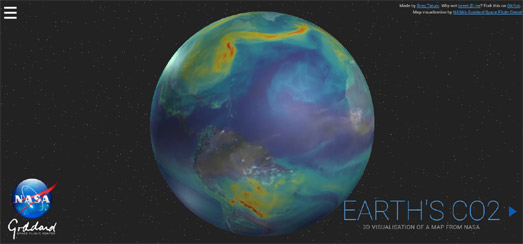 Maps Mania The Environmental Maps of the Week – Earth Interactive Map