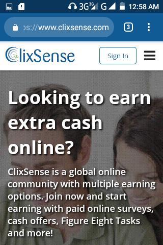 Comment faire de l'argent en ligne clicksense