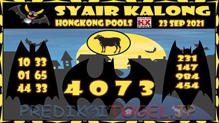 Kalong HK Kamis 23 September 2021 -