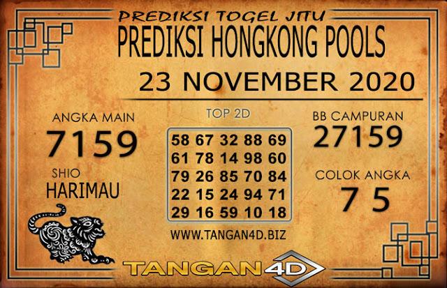 PREDIKSI TOGEL HONGKONG TANGAN4D 23 NOVEMBER 2020