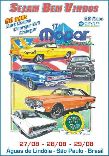 Mopar Nationals reúne clássicos do grupo Chrysler no interior paulista