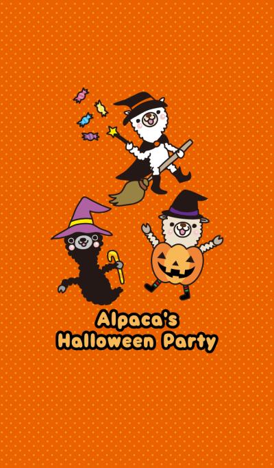 Alpaca's Halloween Party