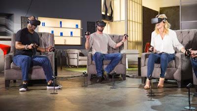 LeVar Burton, Karl Urban e Jery Ryan giocano al videogioco Star Trek Bridge Crew con indosso i visori per la realtà virtuale- TG TREK: Notizie, Novità, News da Star Trek