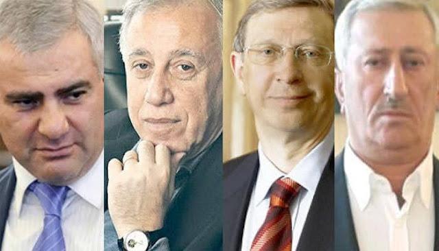 Armenios rusos pagan fianza de Kocharyan
