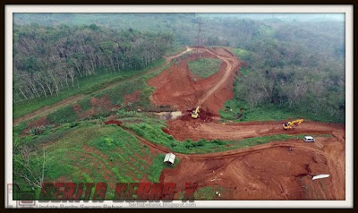 Lokasi proyek kereta cepat Jakarta-Bandung 2016