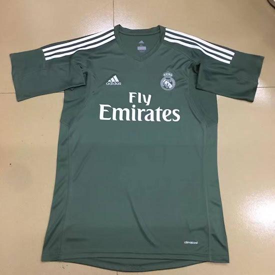 Así serán las camisetas de portero del Real Madrid 2017 18 ca278194fb0c5