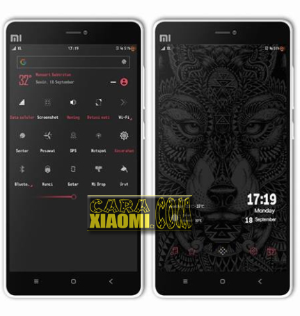 Download Themes MIUI Kodok Mtz Base Kecebong