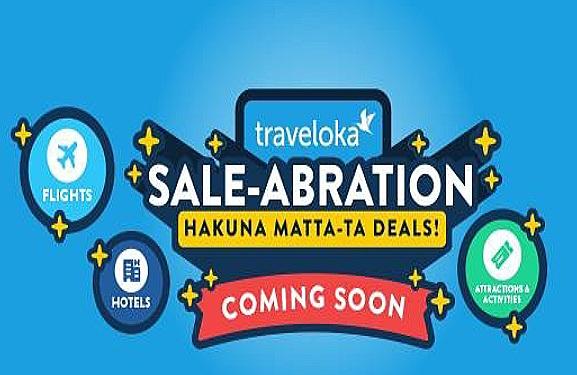 Traveloka Saleabration Hakuna Matta-Ta Deals 11 Mac Ini