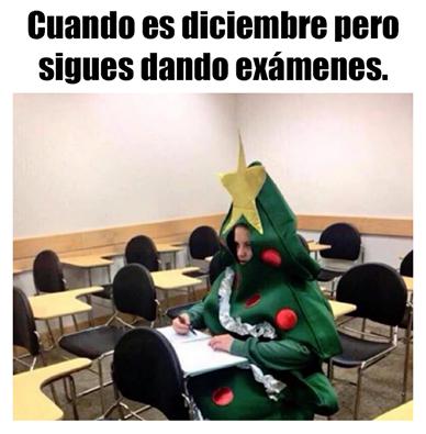 examenes diciembre humor