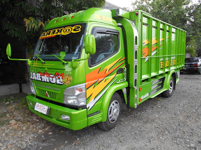 Modifikasi Truk Canter Sakera