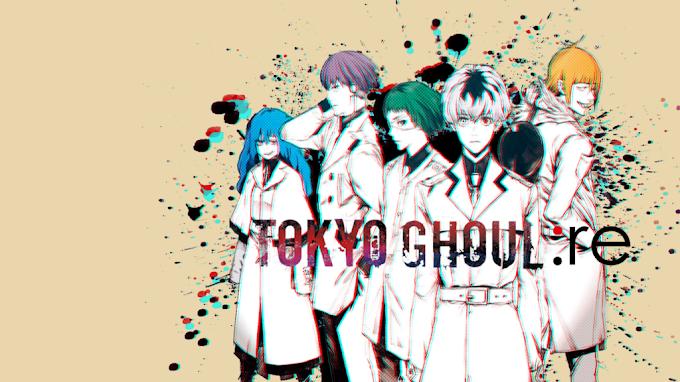 Tokyo Ghoul : RE (Episode 01 – 12)  Season 1 dan 2 Batch Subtitle Indonesia