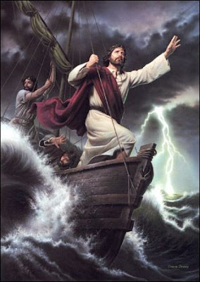 Christ calms the storm