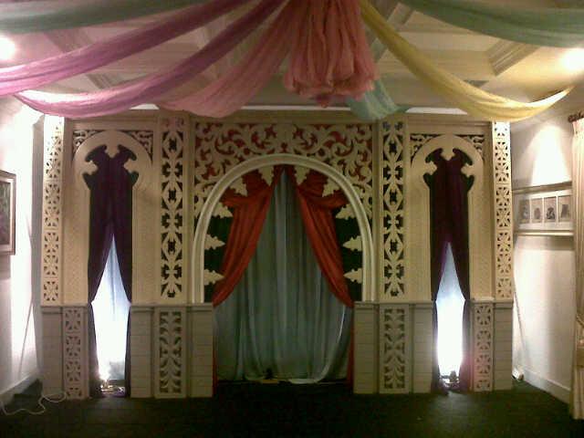 Dekorasi Ramadhan, dekorasi styrofoam, dekorasi tema ramadhan, dekorasi islami